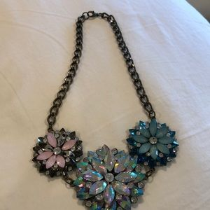 Fun piece of jewelry!  Blues and pinks!